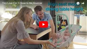 Tiny Love 3 in 1 Close to Me Bouncer | Bubs n Grubs