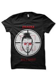 Eminem Kamikaze Killshot Black T Shirt