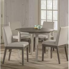 modern wood dining room sets. Kinsey Modern 5 Piece Drop Leaf Dining Set Wood Room Sets M