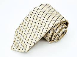 Slny By Steren Land Tie Reversible Solid Geometric Pattern