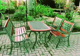 select tool cast iron table set of 4 garden furniture garden table wooden iron furniture antique chair terrace garden balcony diy rakuten