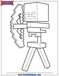 Small Picture 21 best Minecraft Coloring Pages images on Pinterest Coloring