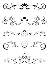 Border Patterns Amazing Designed Borders Floral Pattern Stock Vector Colourbox