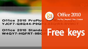 How To Get Word 2010 For Free Working Ms Office 2010 Product Key Free Professional Plus