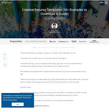 Arena Creative Resume Templates 16 Examples To Download Guide