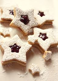 christmas star cookies. Contemporary Cookies Star Cookies Stuffed With Raspberry Jam On Christmas L