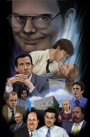 the office poster. The Office Strikes Back Poster