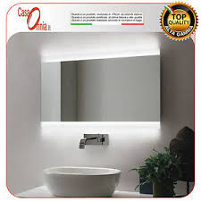 BATHROOM MIRROR LED ANTI FOG BLUETOOTH V&C VELA
