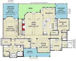 Decorating Awesome Drummond House Plans For Decor Inspiration Floor Plans With Garage