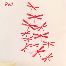 dragonfly wall art high quality 12pcs pvc 3d dragonfly wall stickers dragonfly decors art diy decals dragonfly wall art