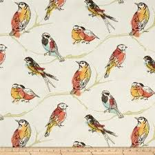 bird print curtains shower curtain in birds print fabric aves perch jubiliee with grommets available in many sizes birds in nature print fabric labeled