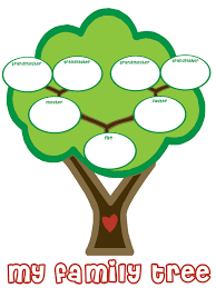 my family tree template printable fill in family tree clipart clipartix