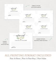 Printable Blank Cards Advice For Newlyweds Cards Printable Template F6