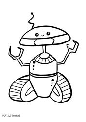 Disegni Di Robot Da Stampare E Colorare Gratis Portale Bambini