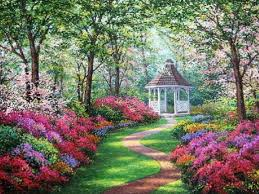 Small Picture Beautiful Garden Paintings Please view the following images