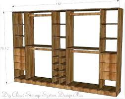 wooden closet shelves diy fresh closet organizers