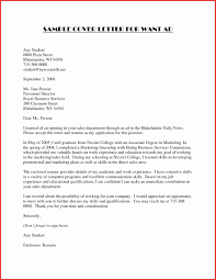 Ample Cover Letter Wonderful Sample Cover Letters For No Work Experience Also Letter