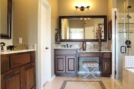 Bathroom Cabinets Next Burrows Cabinets Master Bath In Stained Alder And Bumped Up Vanity