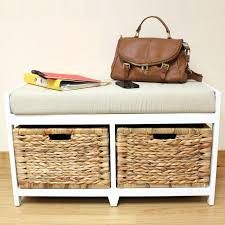 wicker storage bench seat outdoor wing by christopher knight home