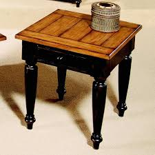 Country Coffee Tables And End Tables Progressive Furniture Country Vista Two Tone Storage End Table
