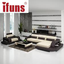 furniture design sofa set. aliexpresscom buy ifuns modern red recliner sofa2016 new design living room home furnitureluxury leather sofa sets from reliable set furniture