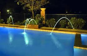 outdoor pool lighting. fiber optic swimming pool light systems outdoor lighting