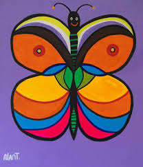 The colors of the butterfly - Alan Tellez - WikiArt.org