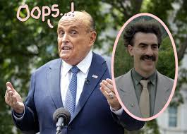 Rudolph Giuliani Borat 2 Reddit . Borat 2 Review Sacha Baron Cohen Makes  Rudy Giuliani A Joke Eagles Vine