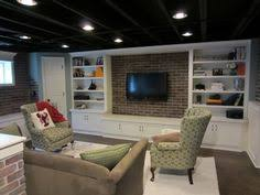 Brilliant Basement Ideas With Low Ceilings Ceiling Combined Delightful Furniture And Inside Simple