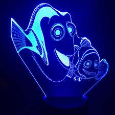 Finding Nemo Light Fish Amazon Com Lqzn Night Light Finding Nemo Fish Decorative