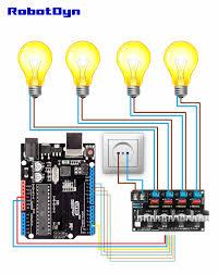 Pwm Ac Light Dimmer Module Ac Light Dimmer Module 4 Channel 3 3v 5v Logic Ac 50 60hz 220v 110v