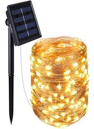 Solar Led Copper Wire Lights Shop Gluckluz Solar Powe String Lights 200 Led Copper Wire Lighting Starry String Light Waterproof Solar Decoration Lamp For Outdoor Gardens Home