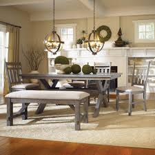 gray dining room table. Valuable Inspiration Gray Dining Room Table Extension Burnt 8