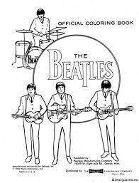 The Beatles Logo Kleurplaat