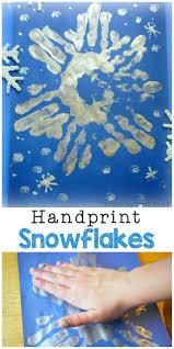 Snowflake Handprints