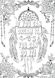 Our cool coloring tribe continues making free, each month different themed, coloring pages for your pleasure. 23 Splendi Inspirational Quotes Coloring Pages For Adults Thespacebetweenfeaturefilm