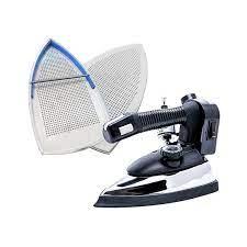 Bàn ủi hơi nước bình treo công nghiệp ES-94A Silver Star + Mặt nạ chống  bóng vải - Hàng Chính Hãng - Bàn ủi hơi nước