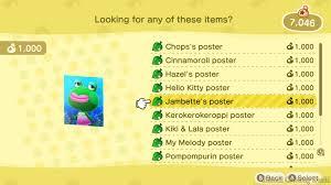 amiibo poster catalog bug fixed in