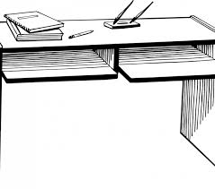 office desk clipart black and white. Perfect Clipart Graphic Transparent Stock Desk Clipart Black And White Of Office Clip Art Intended Office Clipart Black And White