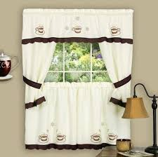 coffee themed kitchen canister sets decor curtains