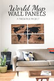 world map wall art diy make this large art piece with just a few supplies on diy map panel wall art with world map wall art diy art pieces walls and craft
