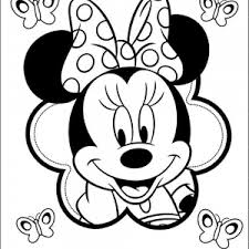 Adult Minnie Mouse Coloring Pages Printable Baby Minnie Mouse