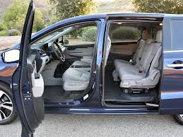 2018 honda odyssey interior. perfect 2018 in loaded elite trim the odysseyu0027s interior looks and feels like an acura  the secondrow seats slip slide into multiple configurations  2018 honda odyssey