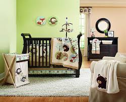 All In One Crib Amazoncom Carters 4 Piece Crib Bedding Set Forest Friend