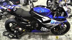 2016 yamaha r6 motoamerica racing bike walkaround 2016 aimexpo