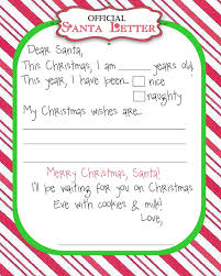 Letter To Santa Stationary Template Fresh Official Letter From Santa