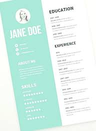 Resume Layout Examples New Resume Layout Design Templates Puntogovco