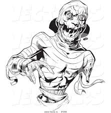 Small Picture Scary Monster Coloring Pages Scary Monster Coloring Pages Large