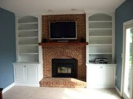 modest decoration built ins around fireplace cute built stone around fireplace built cupboards around fireplace