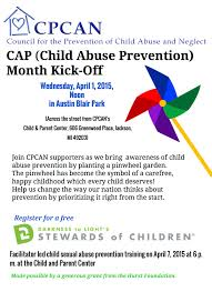 child abuse flyers cap child abuse prevention month kick off jackson home fm